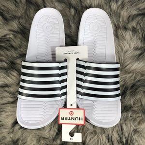 32a7b0f47d3 Hunter Shoes - HUNTER for Target Men s Slides Sandals Size 13